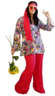 Flower Hippie Costume
